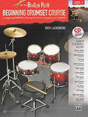 Beginning Drumset Course, Level 1 By Lackowski, Rich